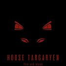 House Targaryen Minimalist Poster by liquidsouldes