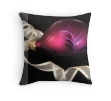 Bauble glow Throw Pillow