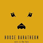 House Baratheon Minimalist Poster by liquidsouldes