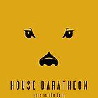 House Baratheon Minimalist Poster by liquidsouldes