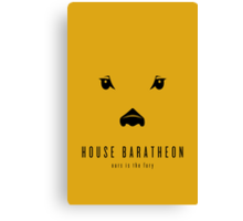 House Baratheon Minimalist Poster Canvas Print