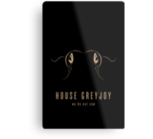 House Greyjoy Minimalist Poster Metal Print