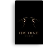 House Greyjoy Minimalist Poster Canvas Print