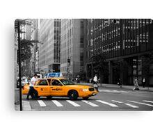 New York Taxi Canvas Print