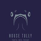 House Tully Minimalist Poster by liquidsouldes