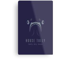House Tully Minimalist Poster Metal Print