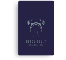 House Tully Minimalist Poster Canvas Print