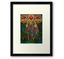 christconsciousness digital - 2011 Framed Print