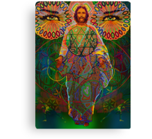 christconsciousness digital - 2011 Canvas Print