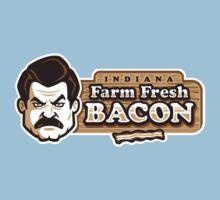 Farm Fresh Bacon One Piece - Short Sleeve