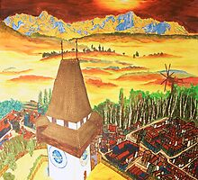 Southern Styria, Painting 2 by Barbie Hardrock