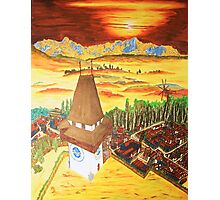 Southern Styria, Painting 2 Photographic Print