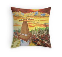 Southern Styria, Painting 2 Throw Pillow