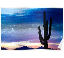 Colorful Southwest Desert Sunrise  Poster