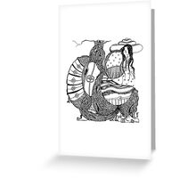 The One Eyed Empress Greeting Card