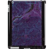 USGS Topo Map Washington State WA Aladdin 239775 1992 24000 Inverted iPad Case/Skin