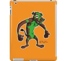 Monkey cow iPad Case/Skin