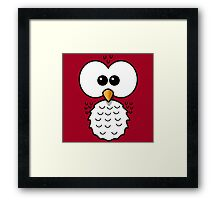Owl Face 1 Framed Print