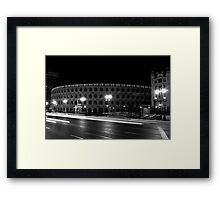 Plaza Toros de Valencia Framed Print