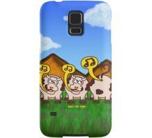 Singing Cows Samsung Galaxy Case/Skin