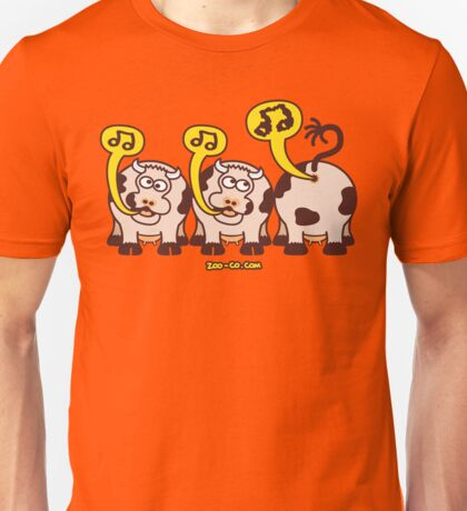 Singing Cows Unisex T-Shirt