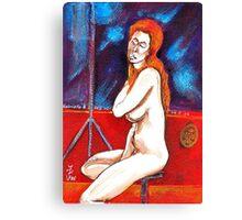 La belle Grabrielle  Canvas Print
