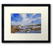 Calm Seas Framed Print