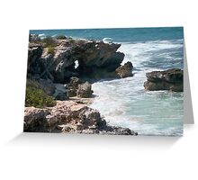 Keyhole Oceanview Greeting Card