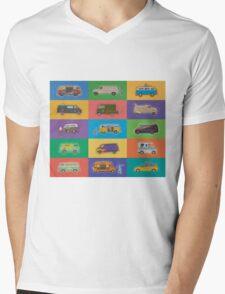 Famous Vans Mens V-Neck T-Shirt