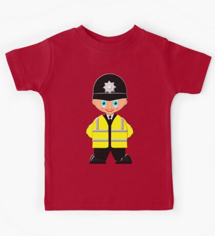 """London Bobby (No 2 in the """"Toon Boy"""" series) at Buckingham Palace Kids Tee"""