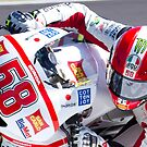 Marco Simoncelli 58  by corsefoto