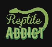 Reptile Addict (with snake) Kids Clothes