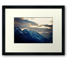 Mountain Framed Print