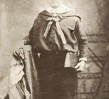 George Elson Loves School In Brooklyn! From A Tintype. by artwhiz47