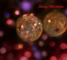 Night-Time Christmas Bokeh by KatMagic Photography