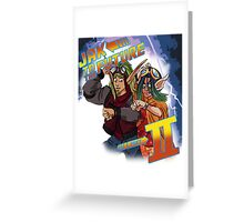 Jak to the Future Greeting Card