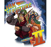 Jak to the Future Photographic Print