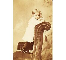 Mabel Grumps ~ Binghamton, NY c. 1880 Photographic Print