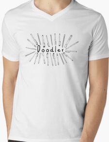 The Doodler Mens V-Neck T-Shirt