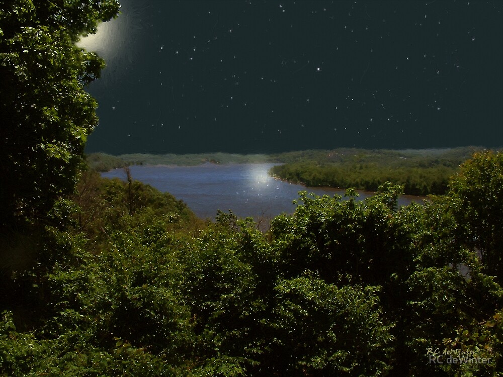 Summer Night on Seventh Sister by RC deWinter
