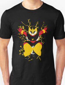 Elec Man Splattery Design T-Shirt