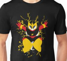 Elec Man Splattery Design Unisex T-Shirt