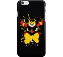 Elec Man Splattery Design iPhone Case/Skin