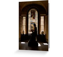 Castle Howard Statue Greeting Card