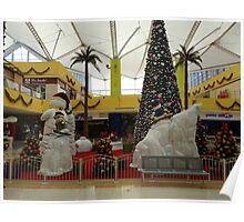 Christmas in the cathedrals of consumption - Navidad en las catedrales del consumo Poster