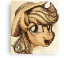 A Silly Pony Canvas Print