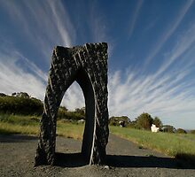 Sculpture Park, Barossa Valley, South Australia - Arch by muz2142