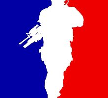 MLG Modern Warfare Soldier iPhone Case by TalkThatTalk