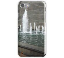 NGV Water Fountain iPhone Case/Skin