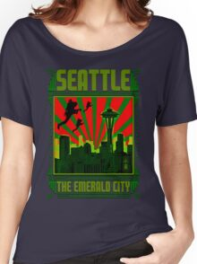 SEATTLE - THE EMERALD CITY Women's Relaxed Fit T-Shirt